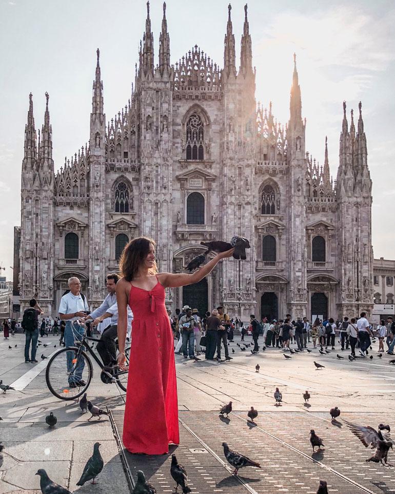 Viivi Vaattovaara viihtyy mainiosti Milanossa, jossa opiskelee lääketieteellisessä lääkäriksi.  – Löysin samasta koulusta myös mieheni, hän iloitsee.