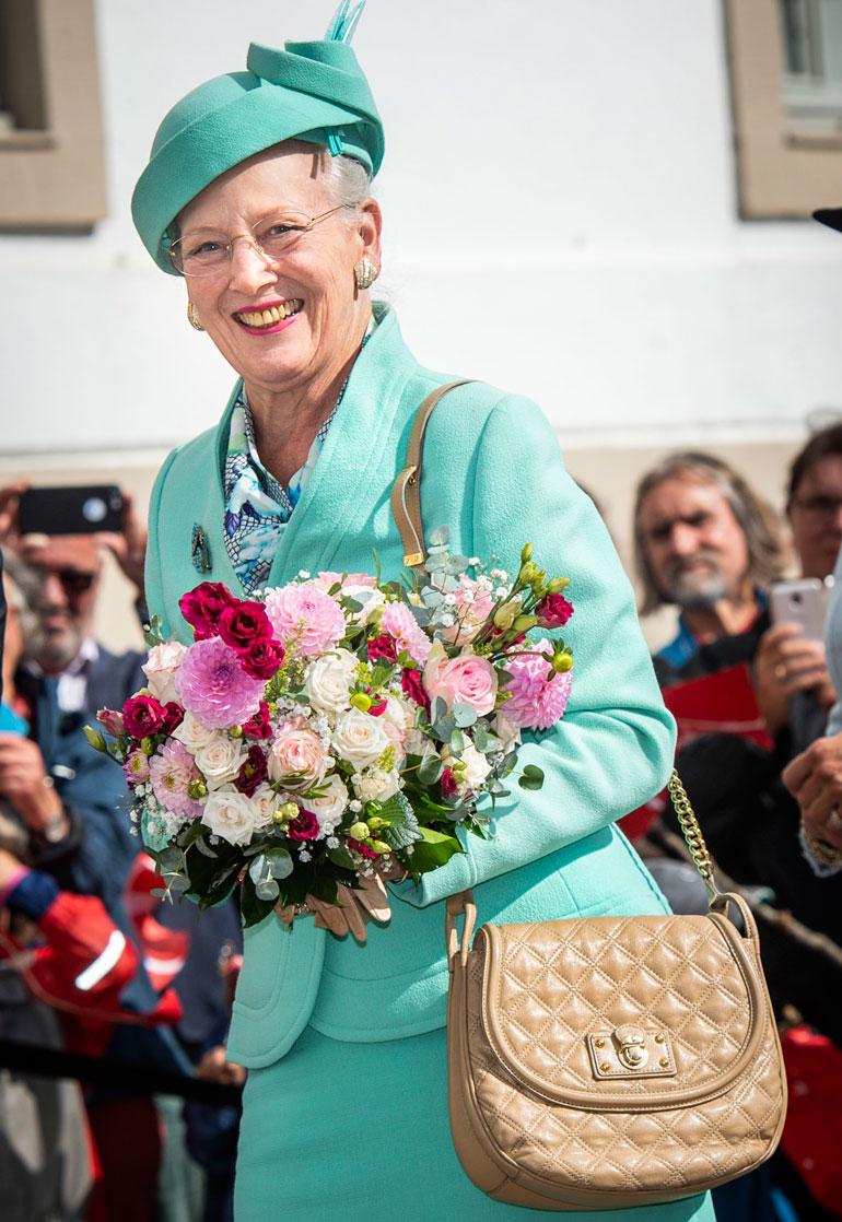 Tanskan kuningatar on ollut leskenä viime vuoden helmikuusta.