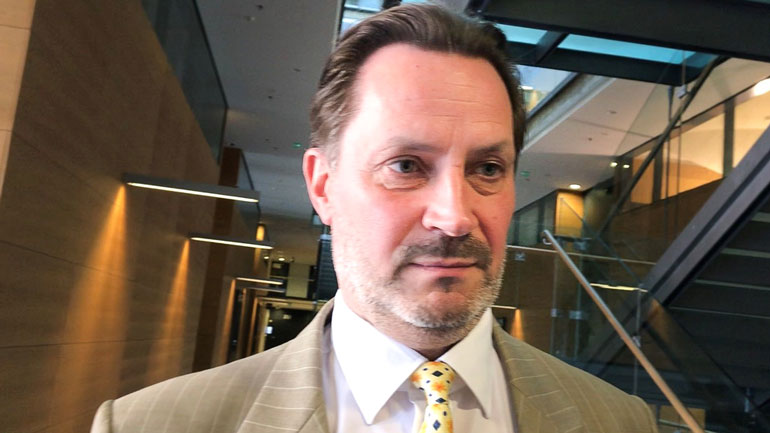 Kaarle Lehmus Helsingin poliisista toimii jutun tutkinnanjohtajana.