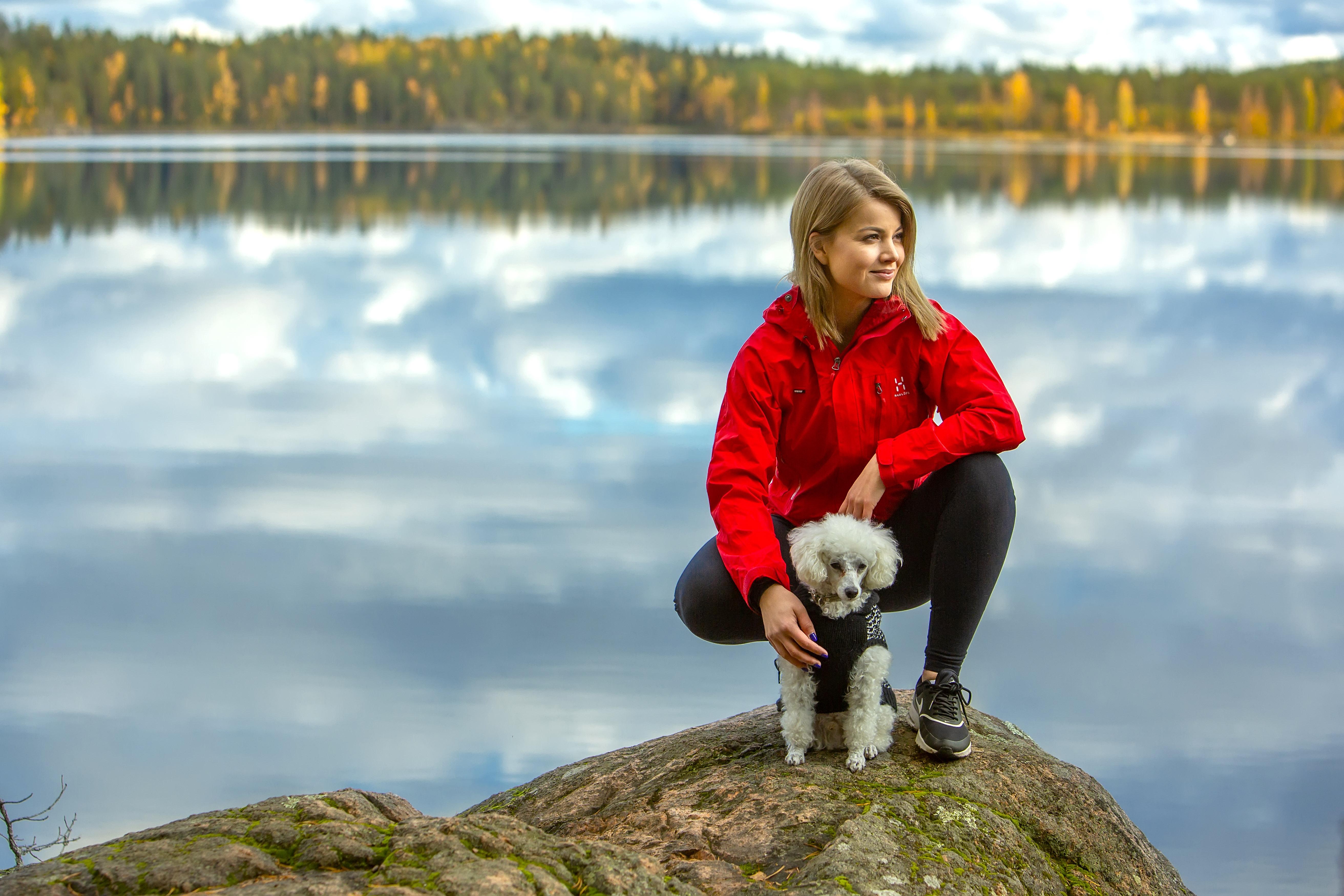 Janni Hussi vierailee Repoveden kansallispuistossa niin usein kuin mahdollista.
