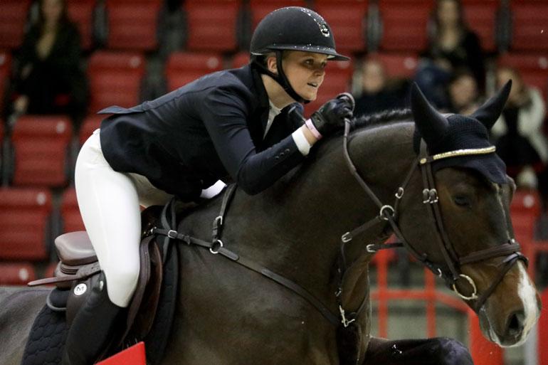 Emilian ratsulla on vähemmän heppoja kuin Valtterin, mutta tyyli on luonnollisempi.