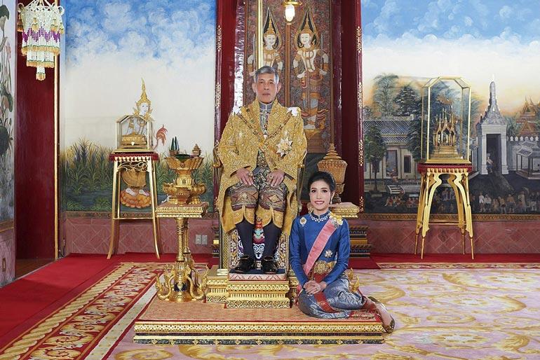 Thaimaan kuningas Rama X