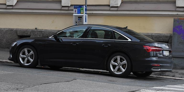 Hanna-Maria Seppälän auto.