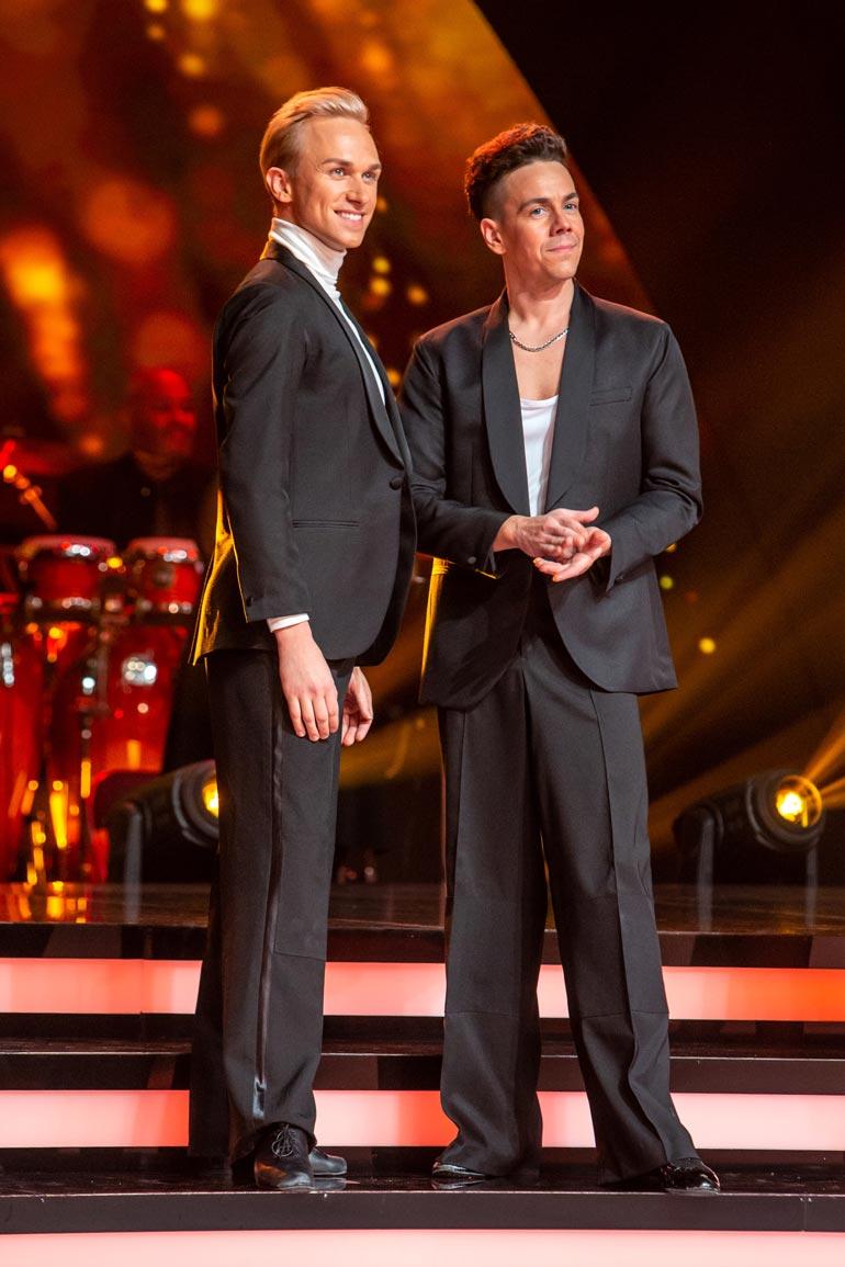 Christoffer Strandberg ja Matti Puro