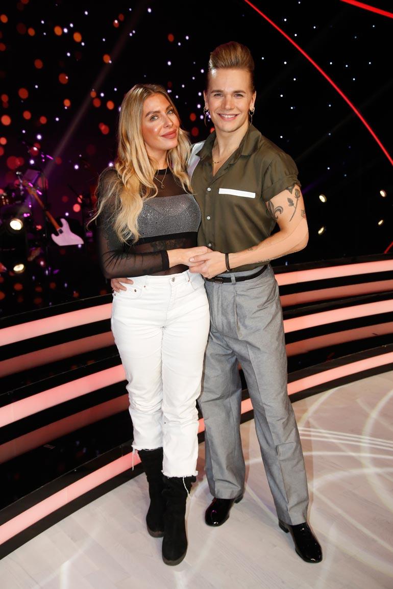 Tytti-rakas oli kannustamassa Ollia Tanssii tähtien kanssa -kilpailussa.