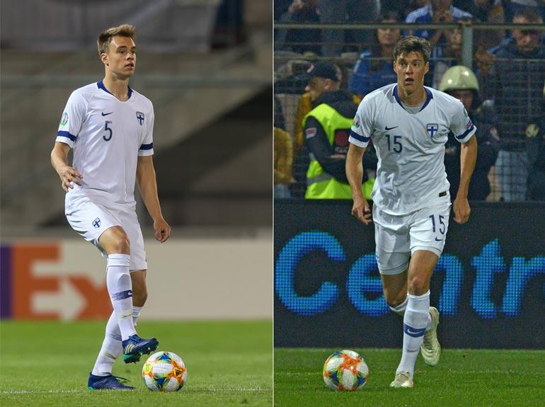 Leo ja Sauli Väisänen ovat pelipaikaltaan molemmat puolustajia. Leon seura on Hollannissa ja Saulin Italiassa.