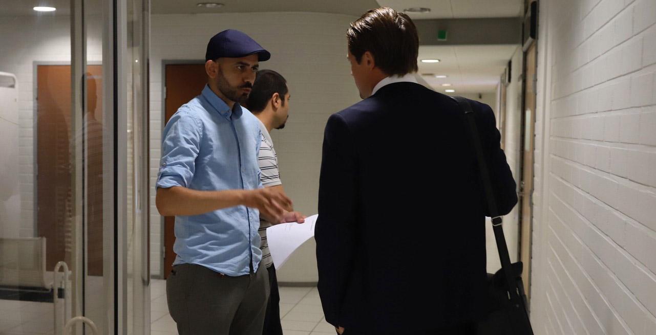 Prince Rami Al Husseinin eli Rami Daoud Jaber käräjäoikeudessa