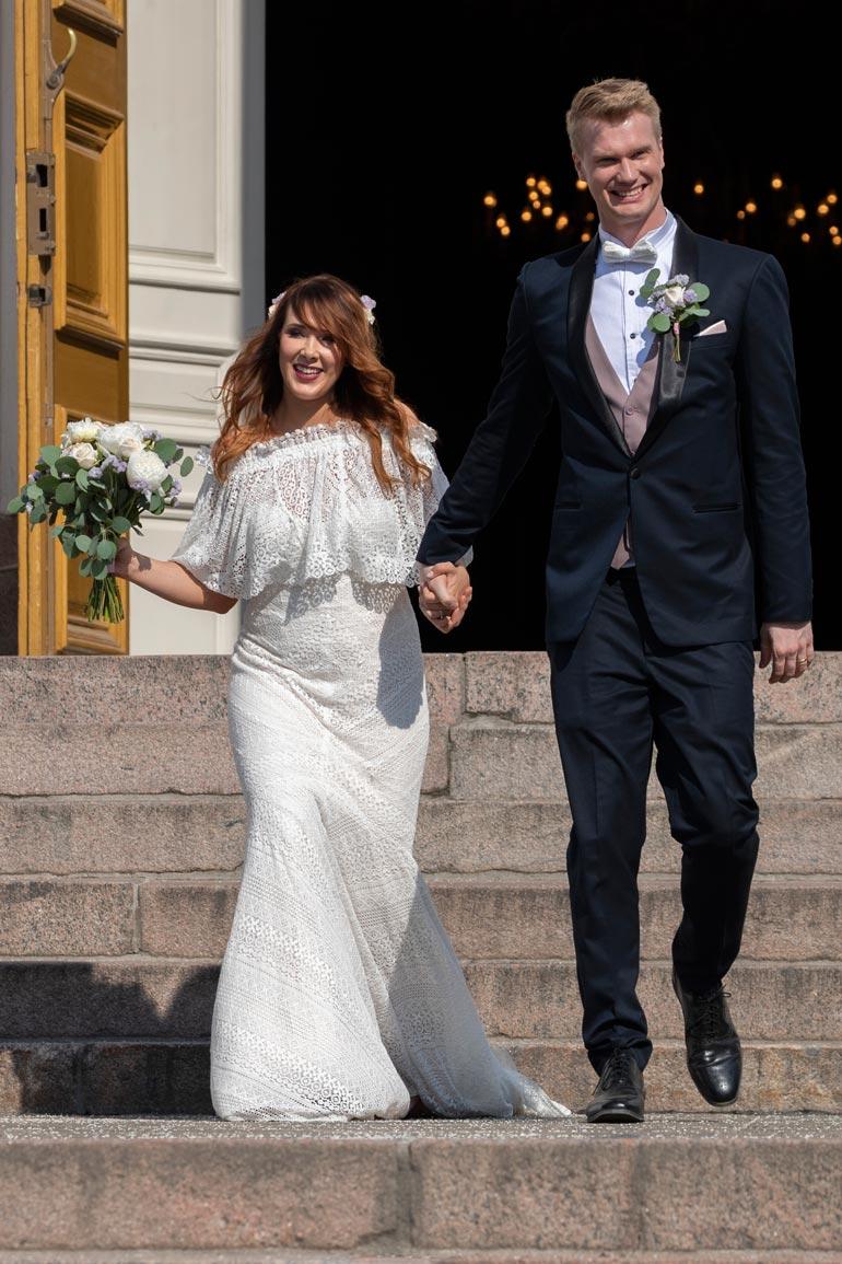 Joonas avioitui toissa kesänä Milla-vaimonsa kanssa. Pariskunnalla on 2-vuotias Aatos-poika, joka saa ensi vuoden alussa pikkusiskon.