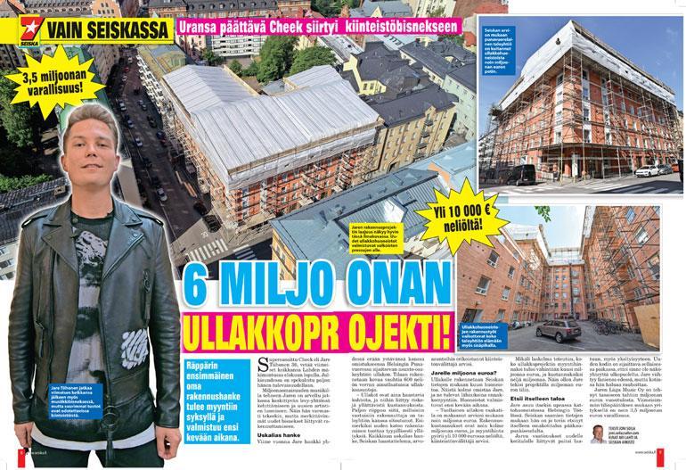 jare tiihosen asuntokaupat Helsingin Punavuoressa