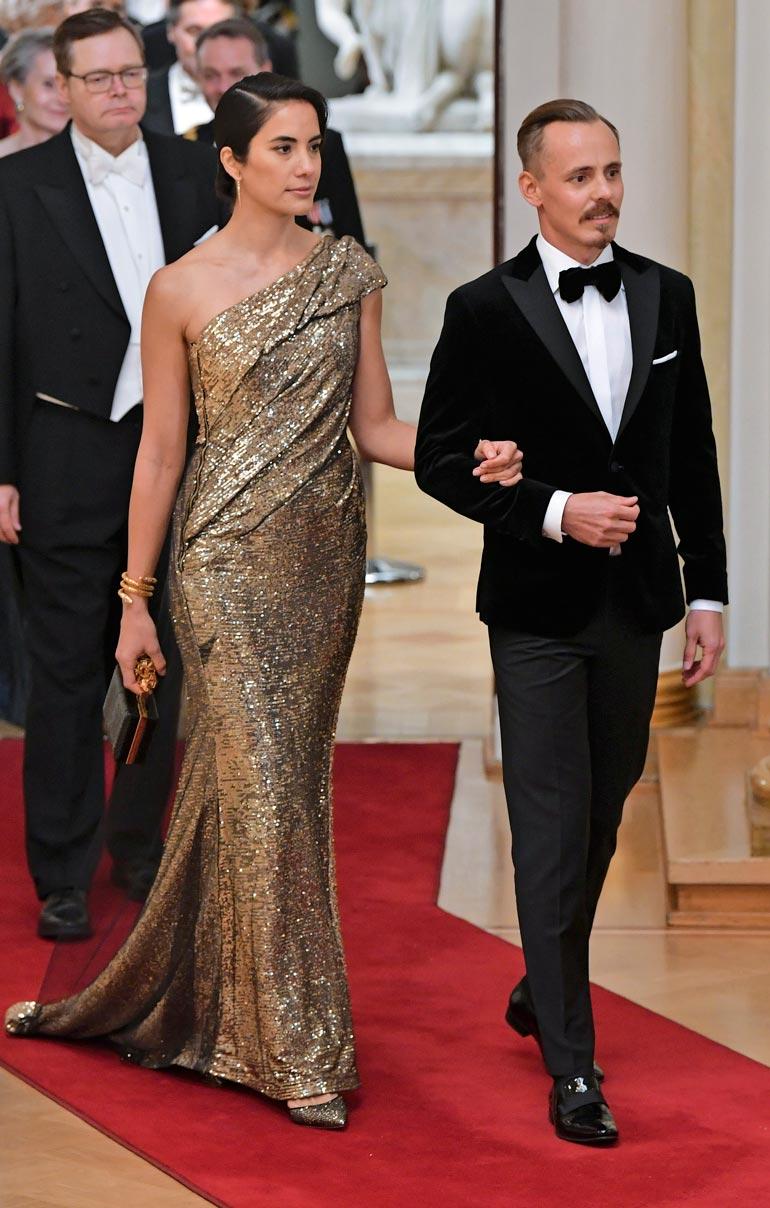 Jasper on seurustellut jo vuosia mallina työskentelevän Alexandra Escatin kanssa. Pariskunta juhli yhdessä Presidentinlinnassa itsenäisyyspäivänä 2018.