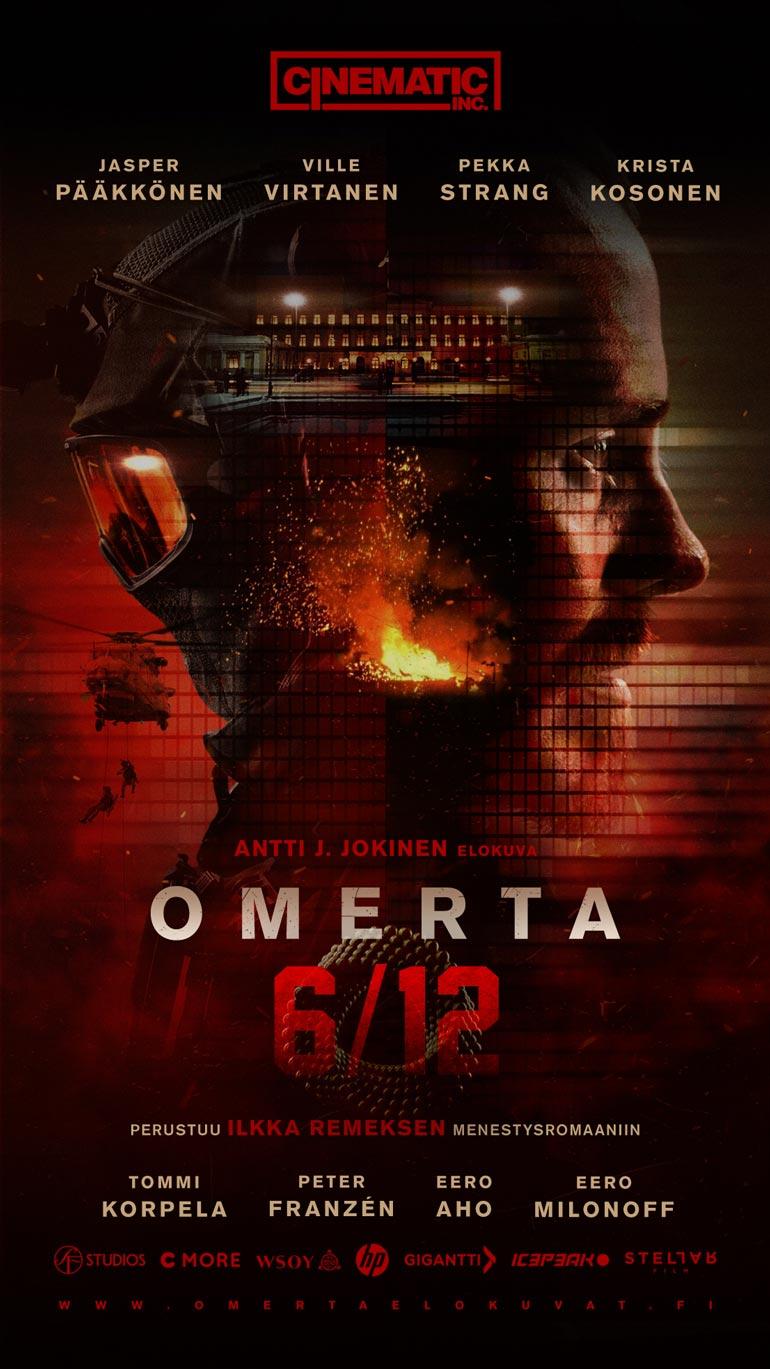 Ensi syksynä Jasper Pääkkönen kuvaa Antti J. Jokisen ohjaaman Omerta-elokuvasarjan kaksi ensimmäistä elokuvaa 6/12 ja 7/12. – Joudumme kovalle kuntokuurille, koska roolihahmojen on näytettävä uskottavilta.