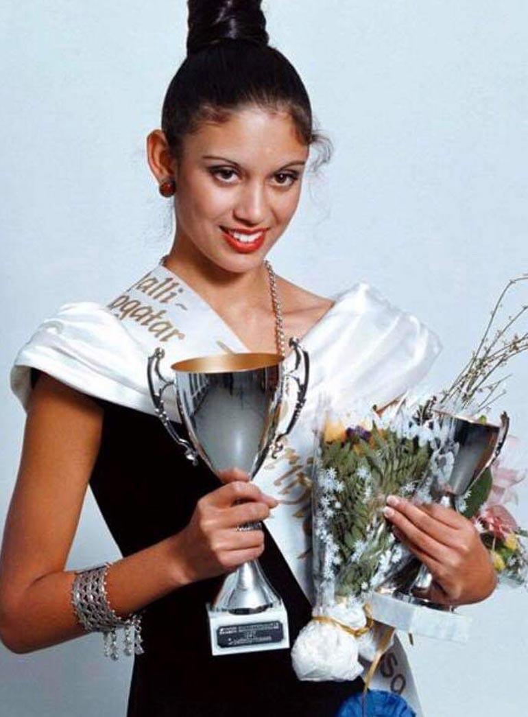 Jasmin oli 14-vuotias voittaessaan Suomen mallikuningatar -kilpailun vuonna 1996.