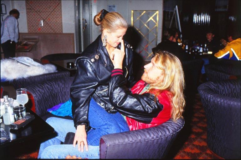 Bilemissiksikin kutsuttu Tarja bailasi vuonna 1993 Renny Harlinin kanssa.