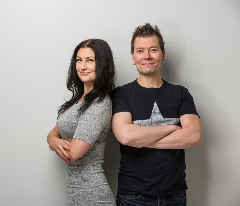 Marja Lappalainen ja Jarkko Vehniäinen