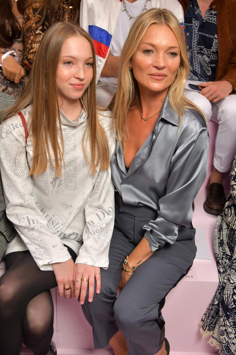 Kate Moss ja Lila Grace Moss Hack