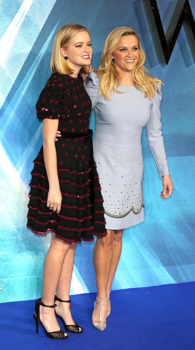 Reese Witherspoon ja Ava Phillippe