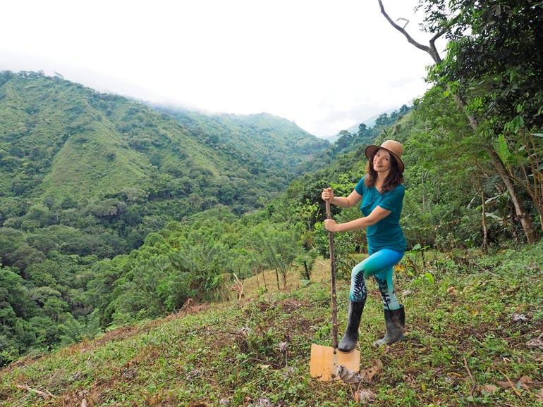 Kirsi ei ole koskaan pelännyt Kolum- biassa. – En ikinä. Se on erittäin turvallinen, siisti ja kaunis paikka. Viidakossa tuntee aina olevansa turvassa, sillä luonto on niin syleilevää.