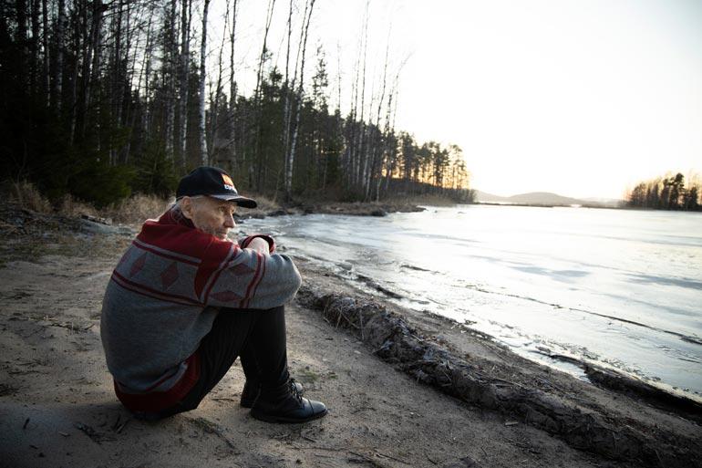 Jorma Kalevi on saanut lääkäriltä arvion parin vuoden jäljellä olevasta elinajasta.  – Olen liian vanha keuhkonsiirtoon Suomessa.