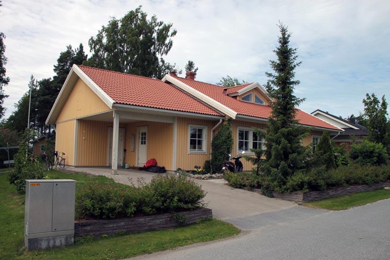 Anna-Maja Henrikssonin talo.