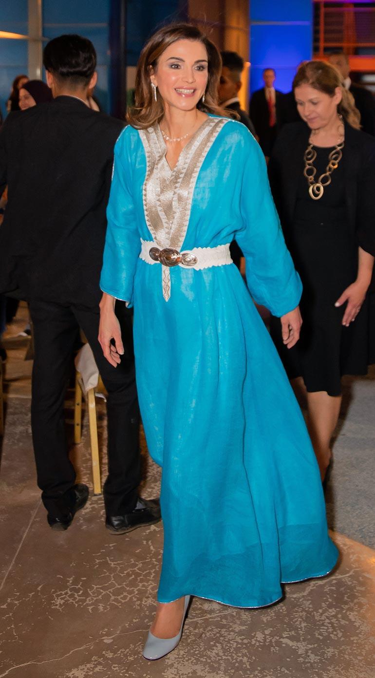 Jordanian rakastettu kuningatar Rania täyttää elokuussa 50 vuotta.