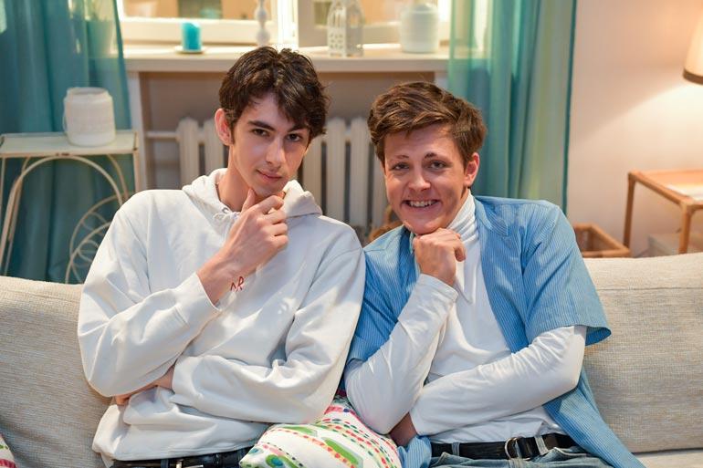 Pablo ja Roope näyttelevät Salkkareissa ja käyvät lukiota.