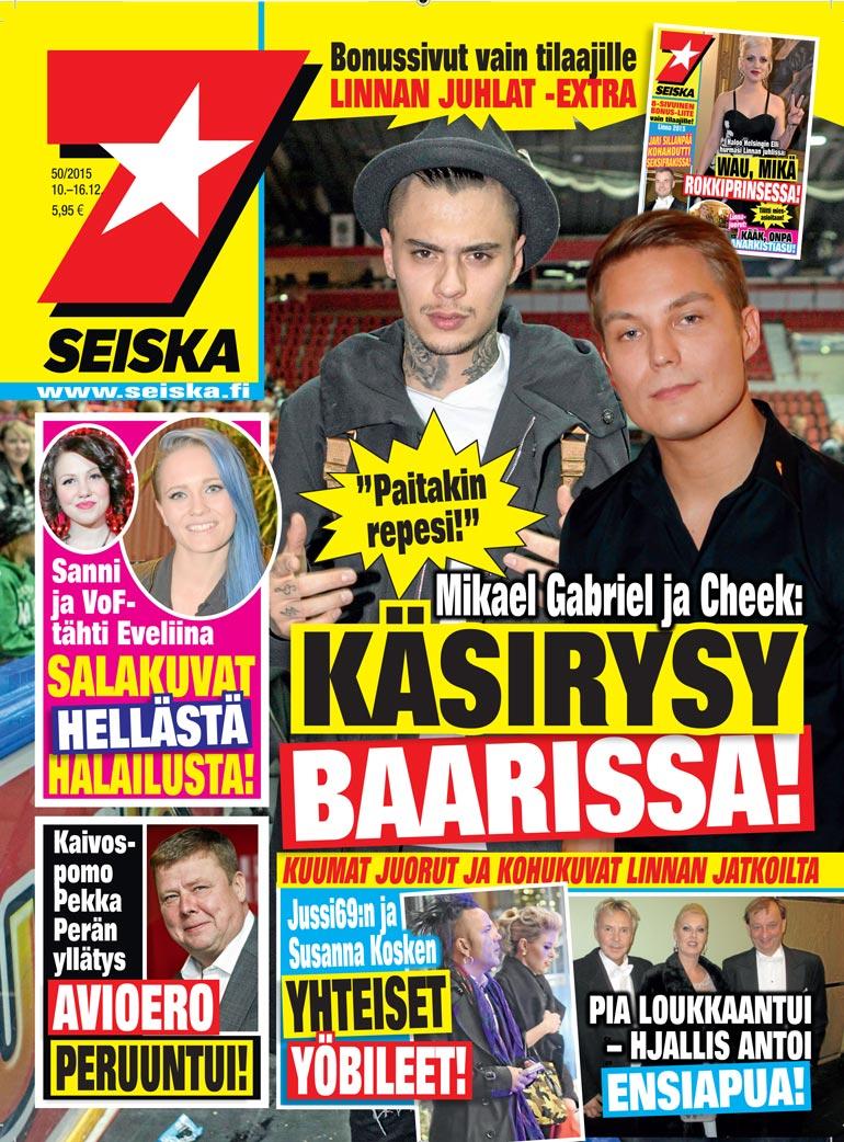 Mikael Gabrielin ja Cheekin käsirysy.