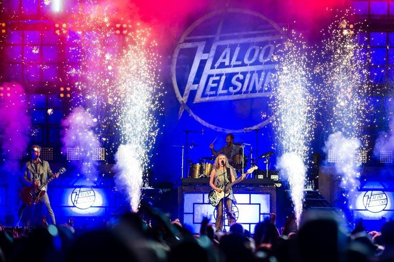 Haloo Helsinki! on ollut vuoden 2013 lopusta lähtien organisoitu osakeyhtiö Haloo Music Group Oy. Yritys takoo tuhtia tiliä.