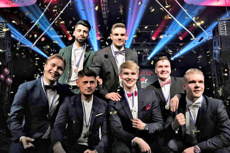 Mr Finland -finalistit.