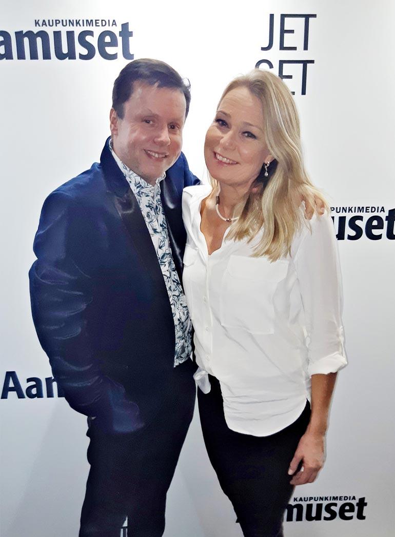Timo Salmesmaa ja Sari Tamminen