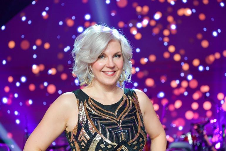 Tv-juontaja Vappu Pimiä oli naisjulkkis-sarjan kakkonen.