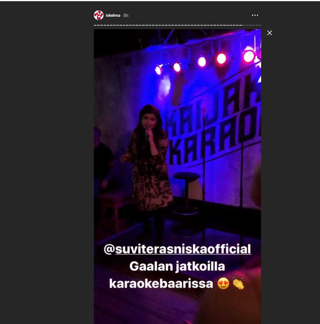 Suvi Teräsniska karaoke