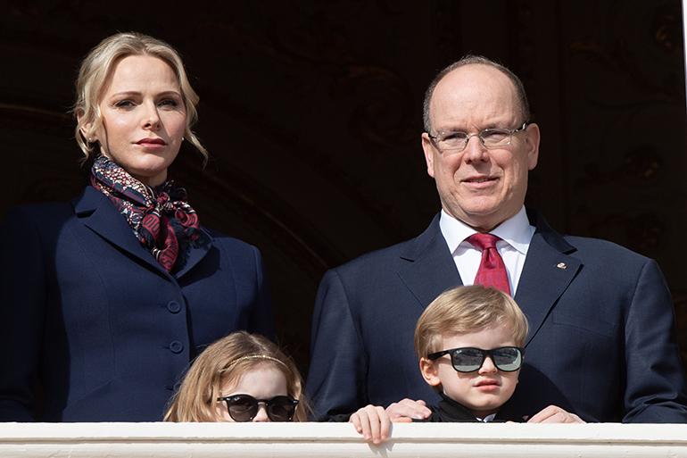 Prinssi Albert ja perhe