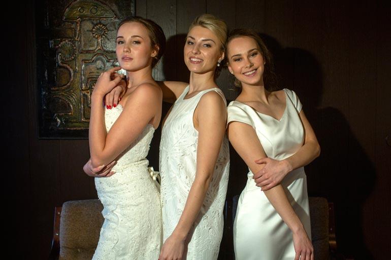Venäläistaustaiset Anna Opalko, Elina Kuznetsova ja Anna Pichenko tuovat slaavilaisen kauniin tuulahduksen tämän vuoden Miss Suomi -kilpailuun.