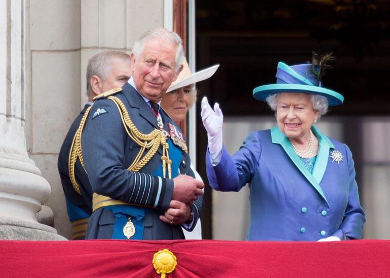 Elisabet ja Charles ovat karanteenissa.