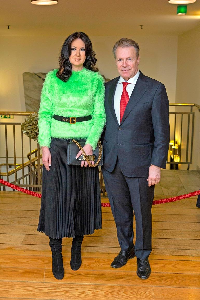 Ilkka Kanerva ja Elina Kiikko avioituivat toukokuussa 2019.