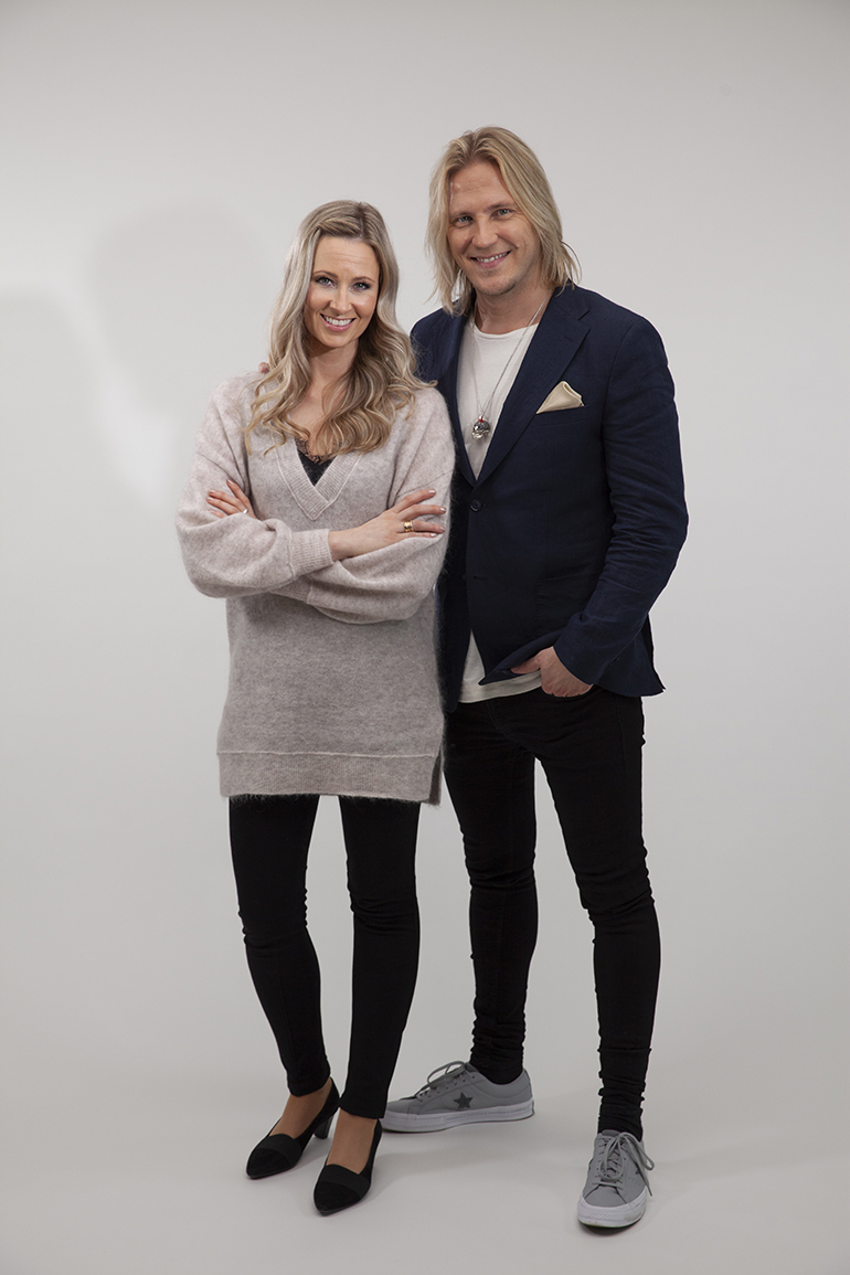 Sami Kuronen ja Leea Mattila.