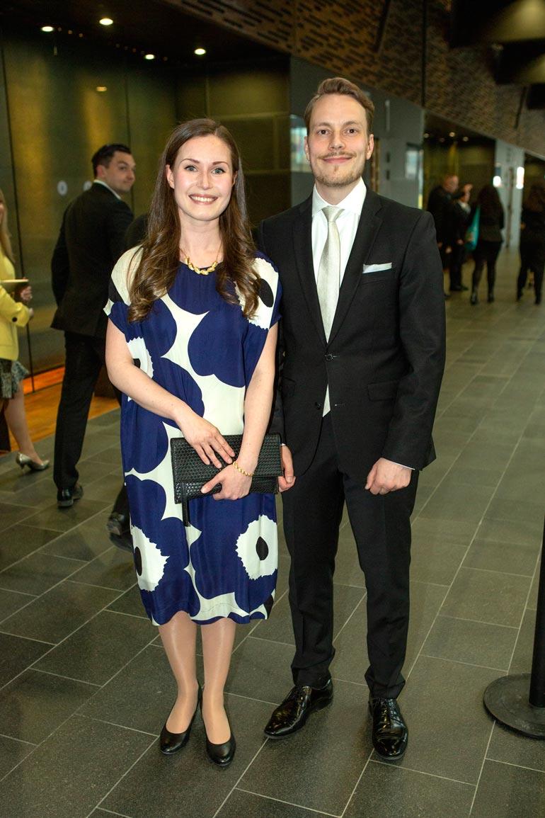 – Hän on paras, Sanna kehui puolisoaan Vogue-lehden haastattelussa. Sanna ja Markus tapasivat 18-vuotiaina.