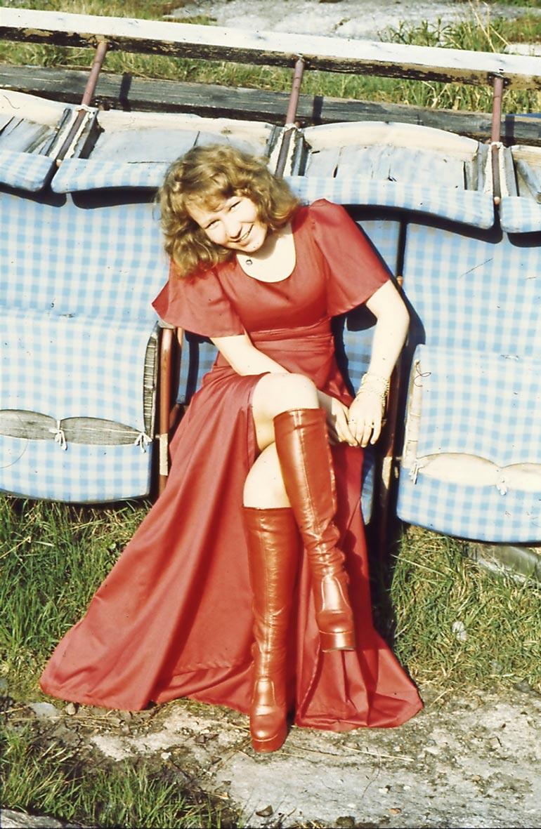 Vicky oli vielä teinityttö tullessaan julkisuuteen 70-luvulla.
