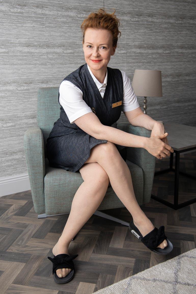 Meri Nenonen nähdään parhaillaan Hotelli Swan Helsinki -tv-sarjassa C Morella.