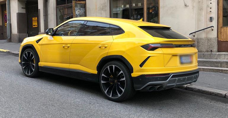 Patrik Laine Lamborghini ursu