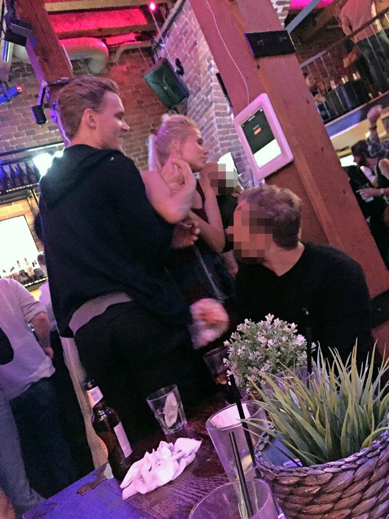 Ennen missikiertuetta Katariina vietti iltaa Mikko Rantasen kanssa.