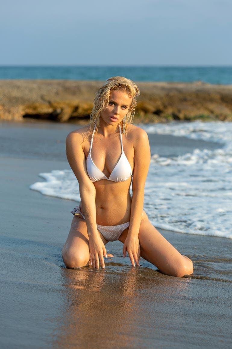 Katariina nähtiin viime vuonna Miss Suomi -finaalissa.
