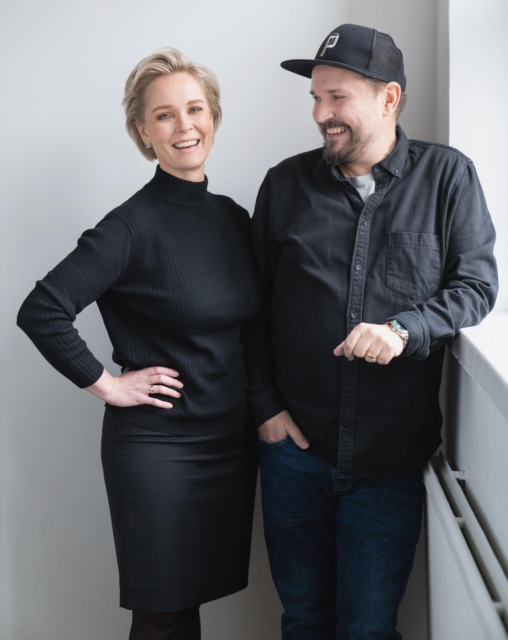 Laura Apukka ja Janek Bjurström.
