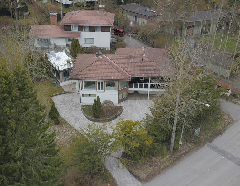 Espoon Westendin ökyalueella sijaitsevassa talossa on tilaa elää.