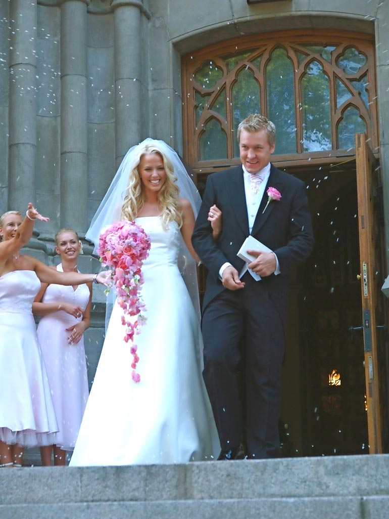 Piritan ja Niklaksen häät olivat suuri seurapiiritapahtuma vuonna 2006. Liitosta syntyi kolme lasta.