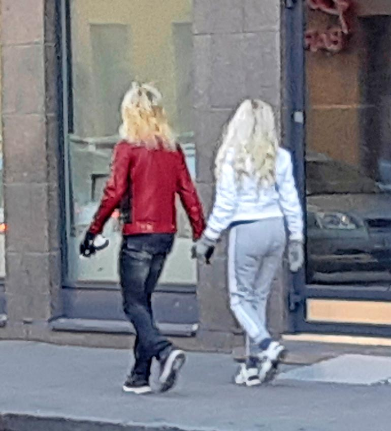 MIchael Monroe ja Johanna