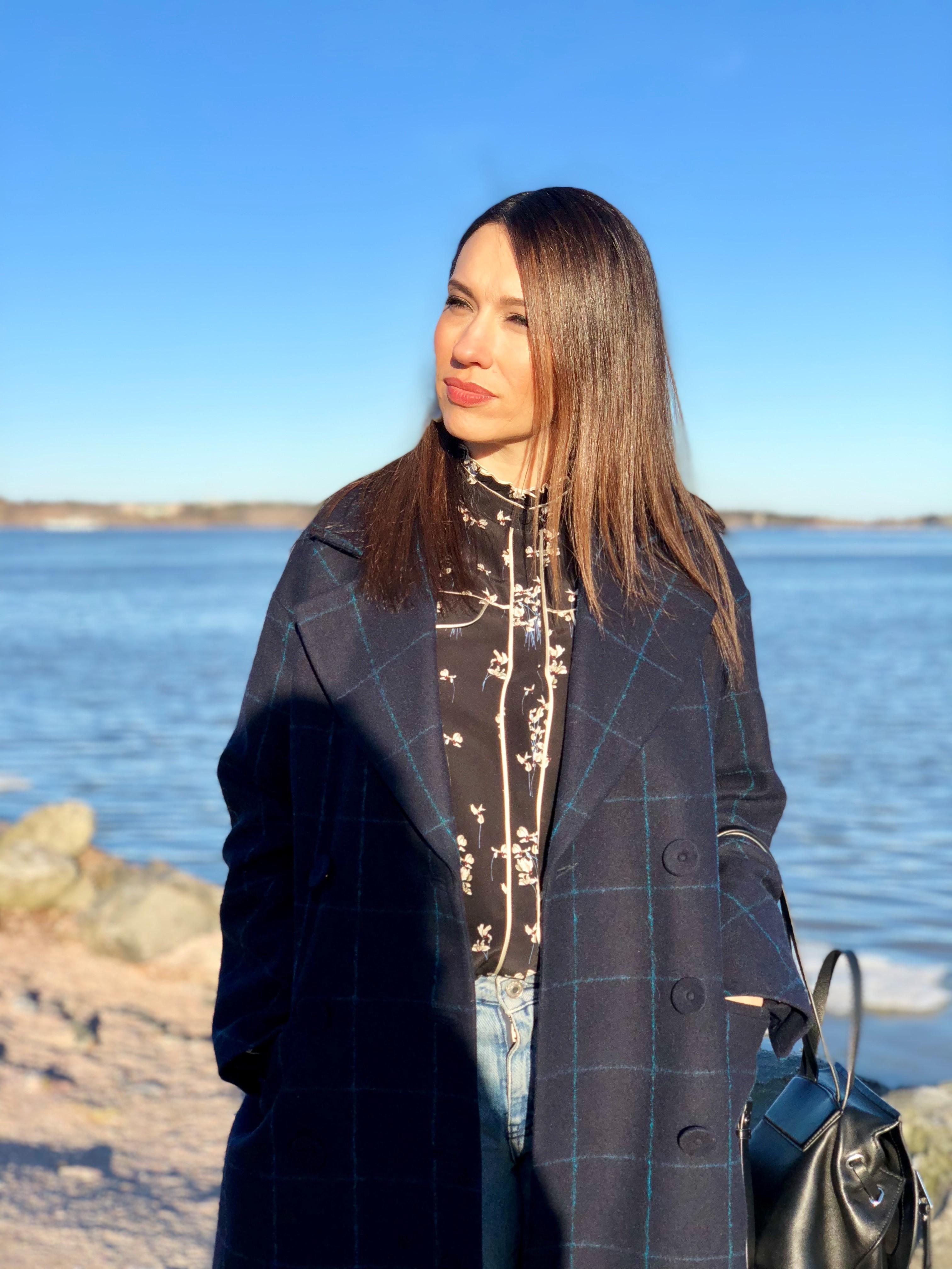 Kolmekymppinen Oksana on asunut tyttärensä kanssa Helsingissä vuodesta 2016 lähtien.