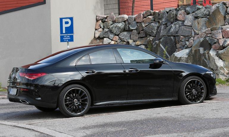 VilleGallen uusi Mercedes-Benz on rekisteröity tämän vuoden alussa.
