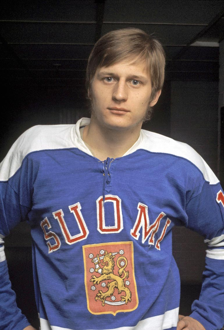 Suomalainen jääkiekkoleijona, jonka Jääkiekkomuseo nimesi järjestysnumerolla 79.