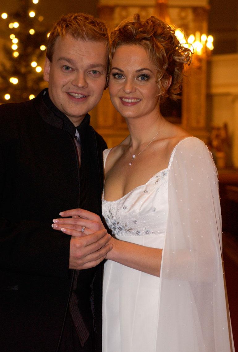 Westerlundit avioituivat vuonna 2004.